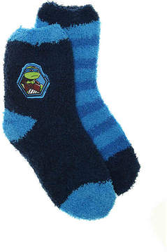 Nickelodeon Boys Teenage Mutant Ninja Turtles Kids Crew Socks - 2 Pack