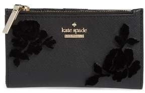 Kate Spade Cameron Street - Mikey Flock Roses Wallet