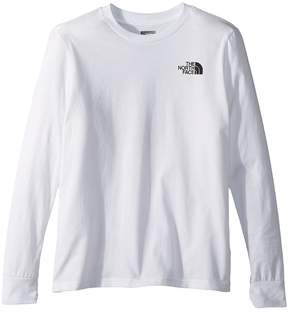 The North Face Kids Long Sleeve Graphic Tee Boy's T Shirt