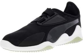 Puma Men's Mostro Mesh Black / White Ankle-High Fashion Sneaker - 6.5M