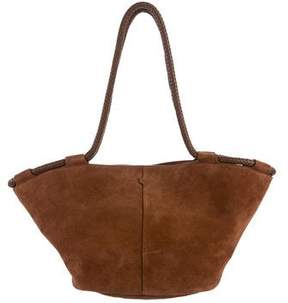 The Row Suede Market Tote