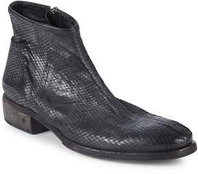 John Varvatos Men's Keith Textured Leather Boots