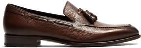 Fratelli Rossetti Grained-leather tassel loafers