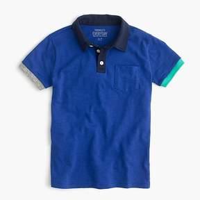 J.Crew Boys' colorblocked polo shirt