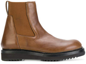 Rick Owens chunky sole Chelsea boots
