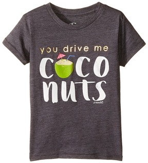 O Coco Nutty Tee (Toddler/Little Kids)