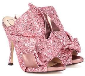 N°21 Ronny 110 glitter sandals