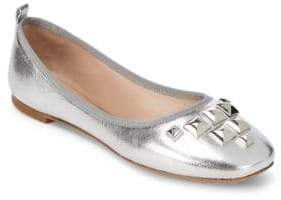 Marc Jacobs Cleo Leather Ballet Flats