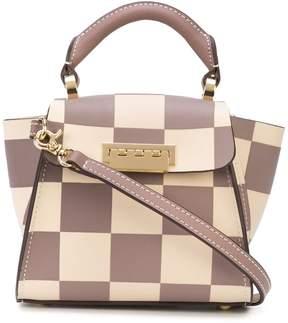 Zac Posen Eartha check pattern mini bag