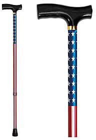 Carex Derby Designer Cane-USA Flag