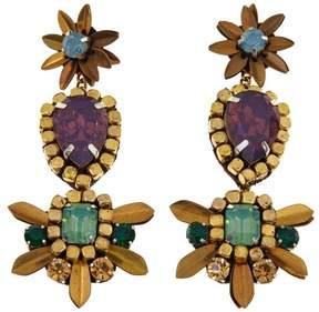 Deepa Gurnani deepa by Bobbi Beaded Triple Drop Earrings