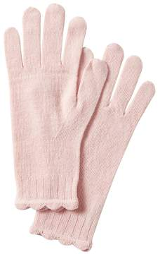 Banana Republic Italian Superloft Scallop Glove
