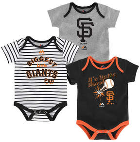 Majestic San Francisco Giants Homerun 3-Piece Set, Baby Boys (0-9 months)