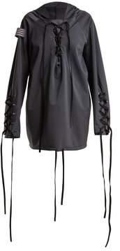Charli COHEN Renegade lace-up shell jacket