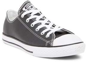 Converse Chuck Taylor Leather Oxford Sneaker (Little Kid & Big Kid)