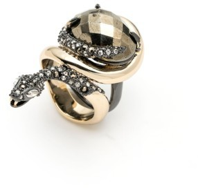 Alexis Bittar Women's Elements Snake Stone Ring