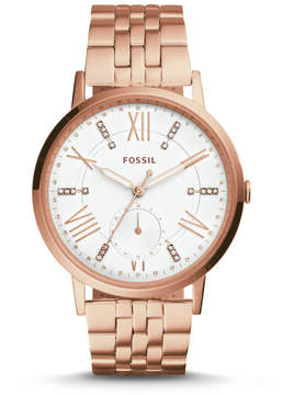 Fossil Gazer Multifunction Rose Gold-Tone Stainless Steel Watch