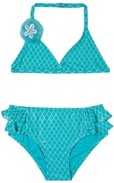 Hula Star Toddler Girl's Mermaid Princess Two-Piece Swimsuit