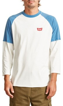 Brixton Men's Layer Look Baseball T-Shirt