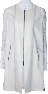 Callens panelled zip coat
