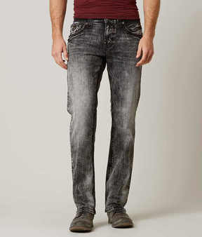Rock Revival Conall Straight Stretch Jean