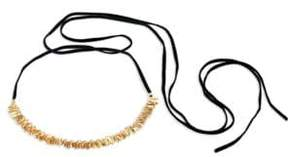 Danielle Nicole Blossom 14K Imitation Goldplated Choker Necklace