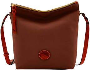 Dooney & Bourke Nylon Hobo Crossbody - BROWN - STYLE
