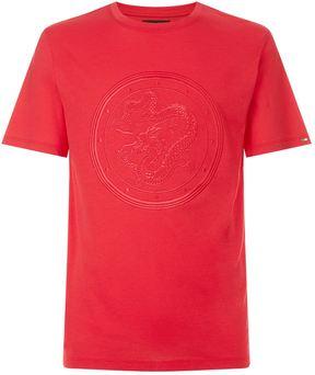 Stefano Ricci Dragon Emblem T-Shirt