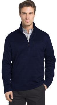 Van Heusen Men's Traveler Classic-Fit Stretch Quarter-Zip Pullover