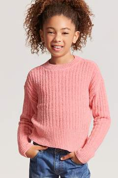 Forever 21 Girls Chenille Sweater-Knit Top (Kids)