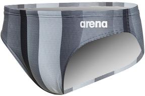 Arena Men's Blended Stripe Brief Swimsuit 8165105