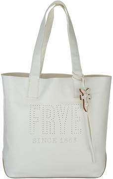 Frye Leather Perforated Logo Unlined Tote - Carson