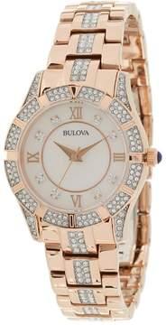 Bulova Ladies Crystal - 98L197 Watches