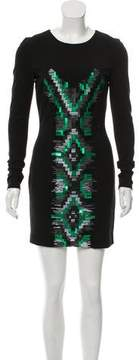 Matthew Williamson Embellished Bodycon Dress