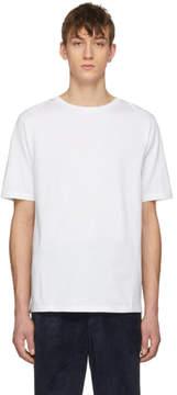 Loewe White Jacquard Back Patch T-Shirt