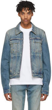 Helmut Lang Reversible Blue Denim Mr. 87 Jacket