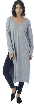 Alternative Apparel NYTT Anna V-Neck Double Side Slit Maxi Dress