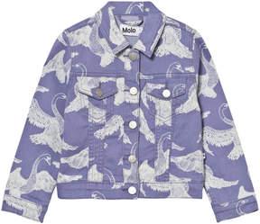 Molo Lilac Hansine Swan Print Jacket
