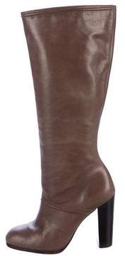 Elizabeth and James Leather Knee-High Boots