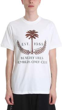 Ih Nom Uh Nit Palm White Cotton T-shirt