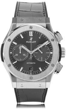Hublot Classic Fusion 521.nx.7071.lr Titanium Grey Dial Chronograph 45mm Mens Watch