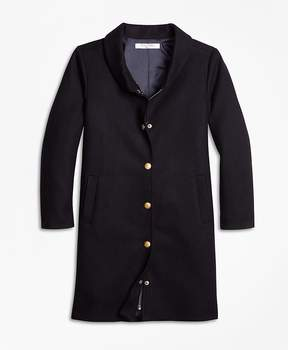 Brooks Brothers Melton Long Coat