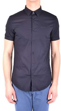Armani Jeans Men's Blue Cotton Shirt.