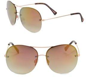 Vince Camuto 64MM Aviator Sunglasses