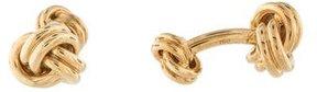 Tiffany & Co. 18K Knot Cufflinks