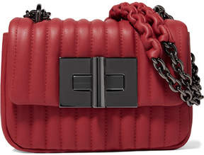 Tom Ford Natalia Mini Quilted Leather Shoulder Bag - Red