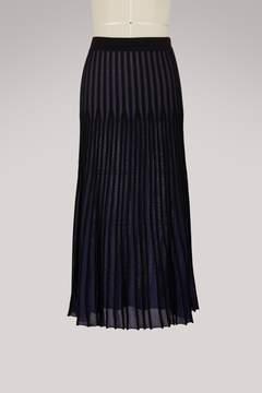 Kenzo Cotton midi skirt