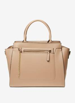 Dorothy Perkins Neutral Winged Workwear Tote Bag