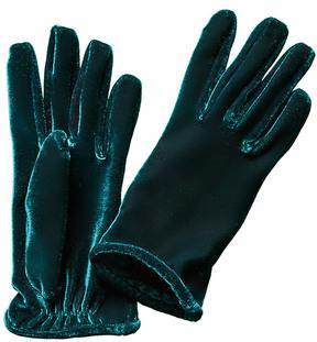 Portolano Women's Velvet Gloves