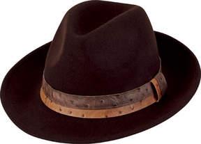 San Diego Hat Company Wool Felt Fedora WFH8032 (Men's)